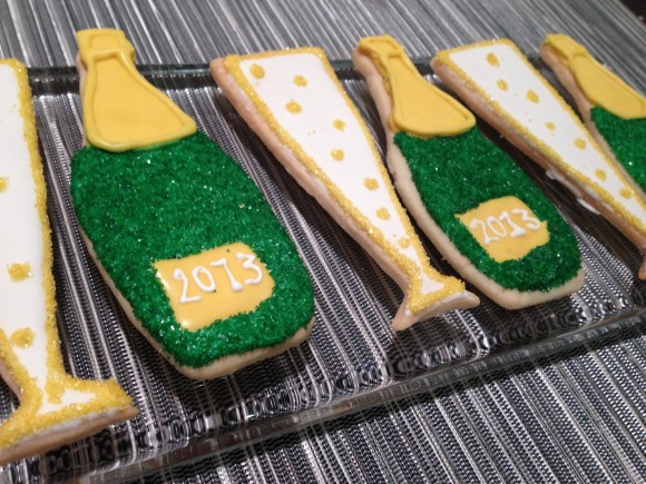 New Years Eve Cookies from Susie Cakes
